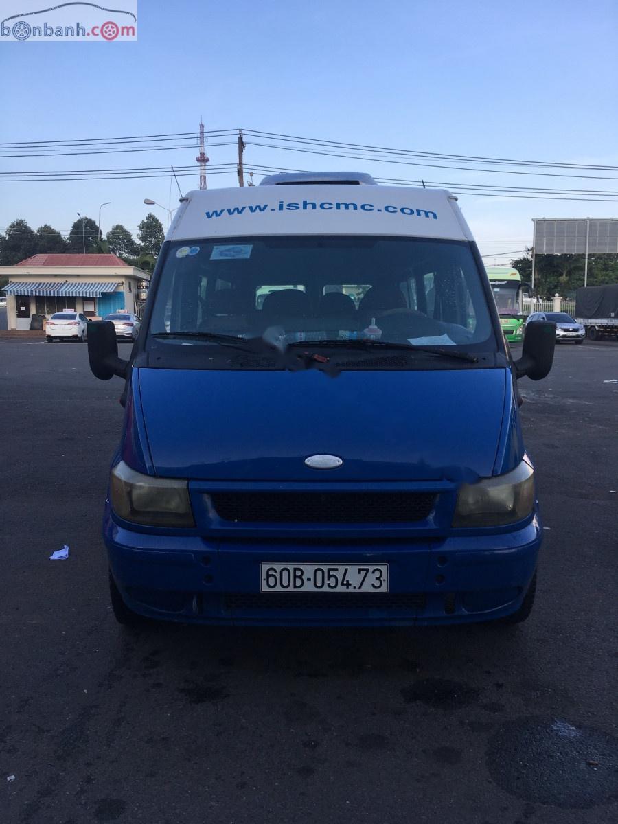 Cần bán lại xe Ford Transit năm 2004, màu xanh lam