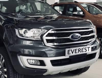 Bán ô tô Ford Everest 2.0L Bi Turbo 4x4 AT đời 2019, màu đen, nhập khẩu chính hãng liên hệ 0911997877 để nhận ưu đãi
