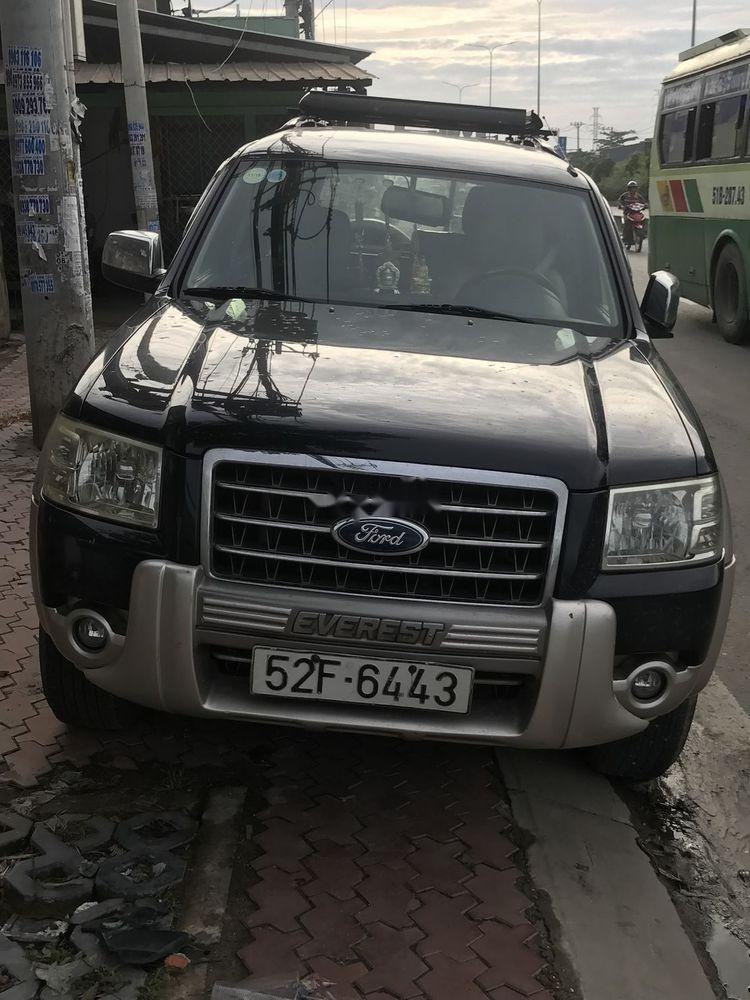 Chính chủ bán xe Ford Everest sản xuất 2008, màu đen, xe nhập