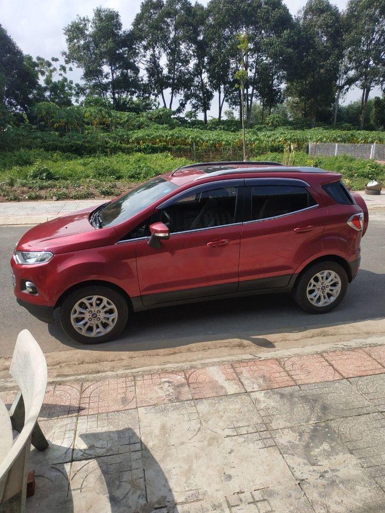 Cần bán xe Ford EcoSport AT năm 2015, màu đỏ xe gia đình, giá 475tr