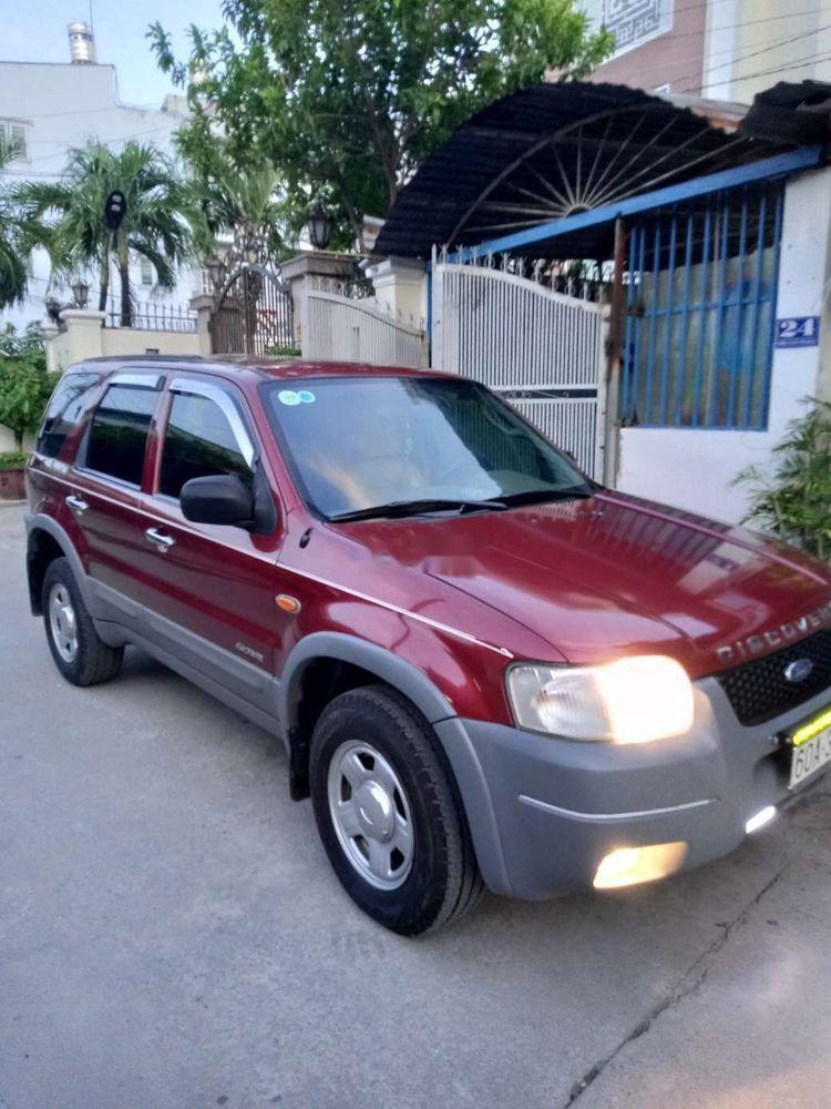 Bán Ford Escape XLT đời 2004, màu đỏ số sàn