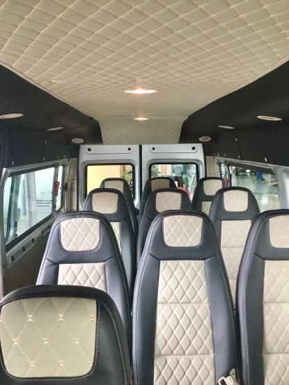 Bán xe Ford Transit đời 2019, mới 100%, trả trước 150 triệu, giao ngay