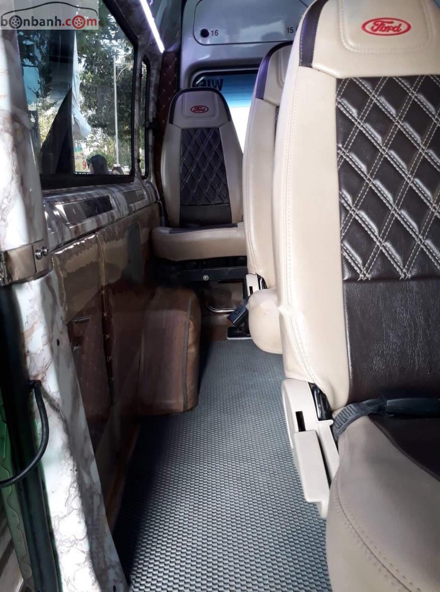 Bán Ford Transit đời 2009, màu bạc, chính chủ