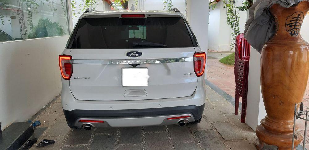 Bán Ford Explorer sản xuất năm 2016, màu trắng, nhập khẩu