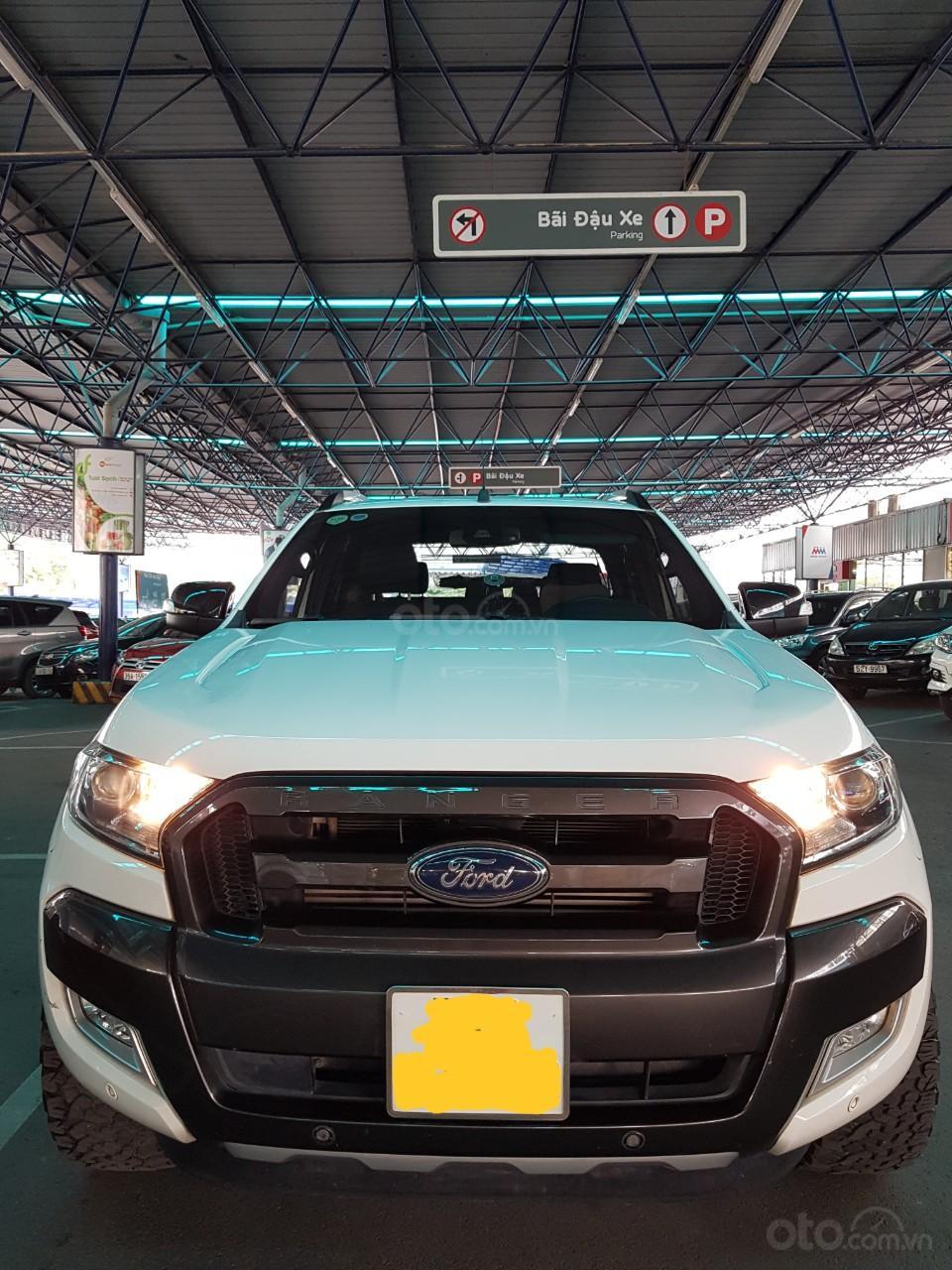 Bán Ford Ranger Wildtrack 3.2 sx 2017, màu trắng, nhập khẩu nguyên chiếc