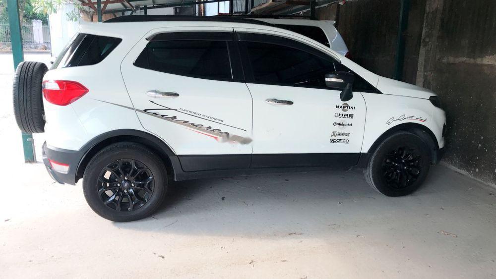 Bán Ford EcoSport Titanium đời 2016, màu trắng số tự động, 479tr