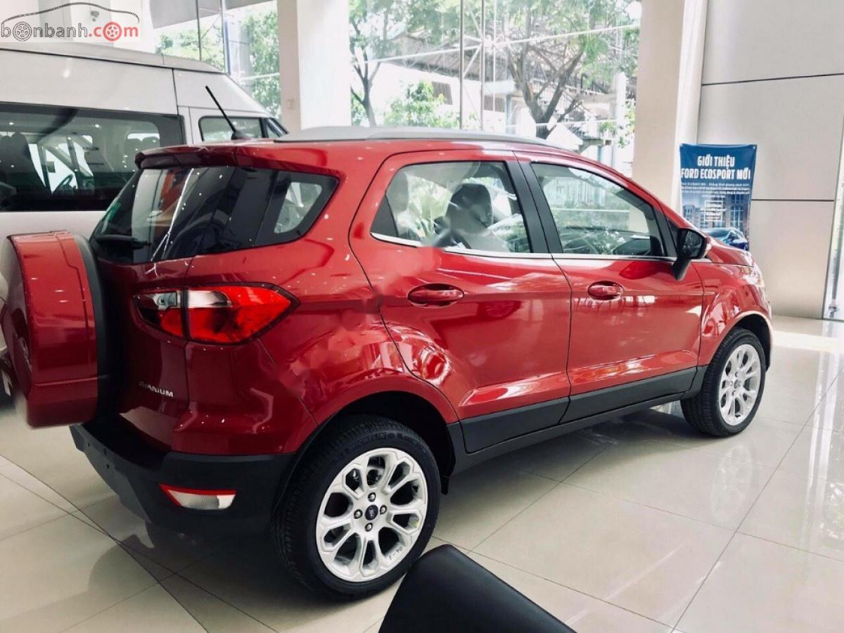 Cần bán Ford EcoSport Titanium 1.5L AT năm 2019, màu đỏ