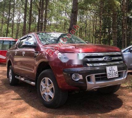 Bán Ford Ranger sản xuất 2014, màu đỏ