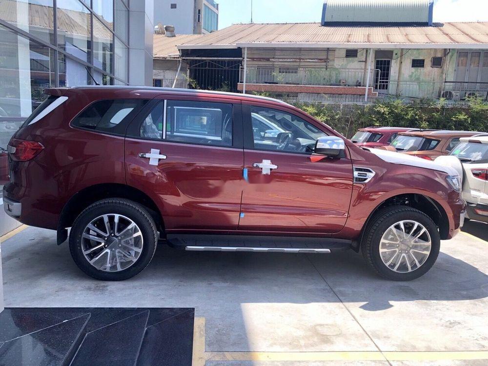 Bán Ford Everest sản xuất 2019, màu đỏ, nhập khẩu