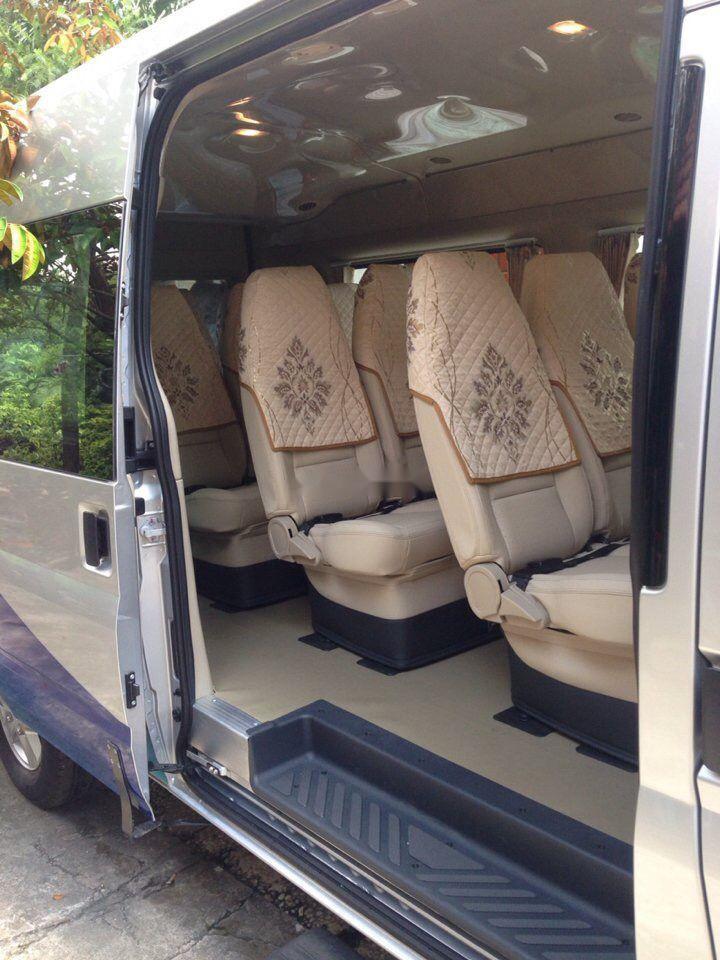 Bán xe Ford Transit Luxury đời 2016, màu bạc