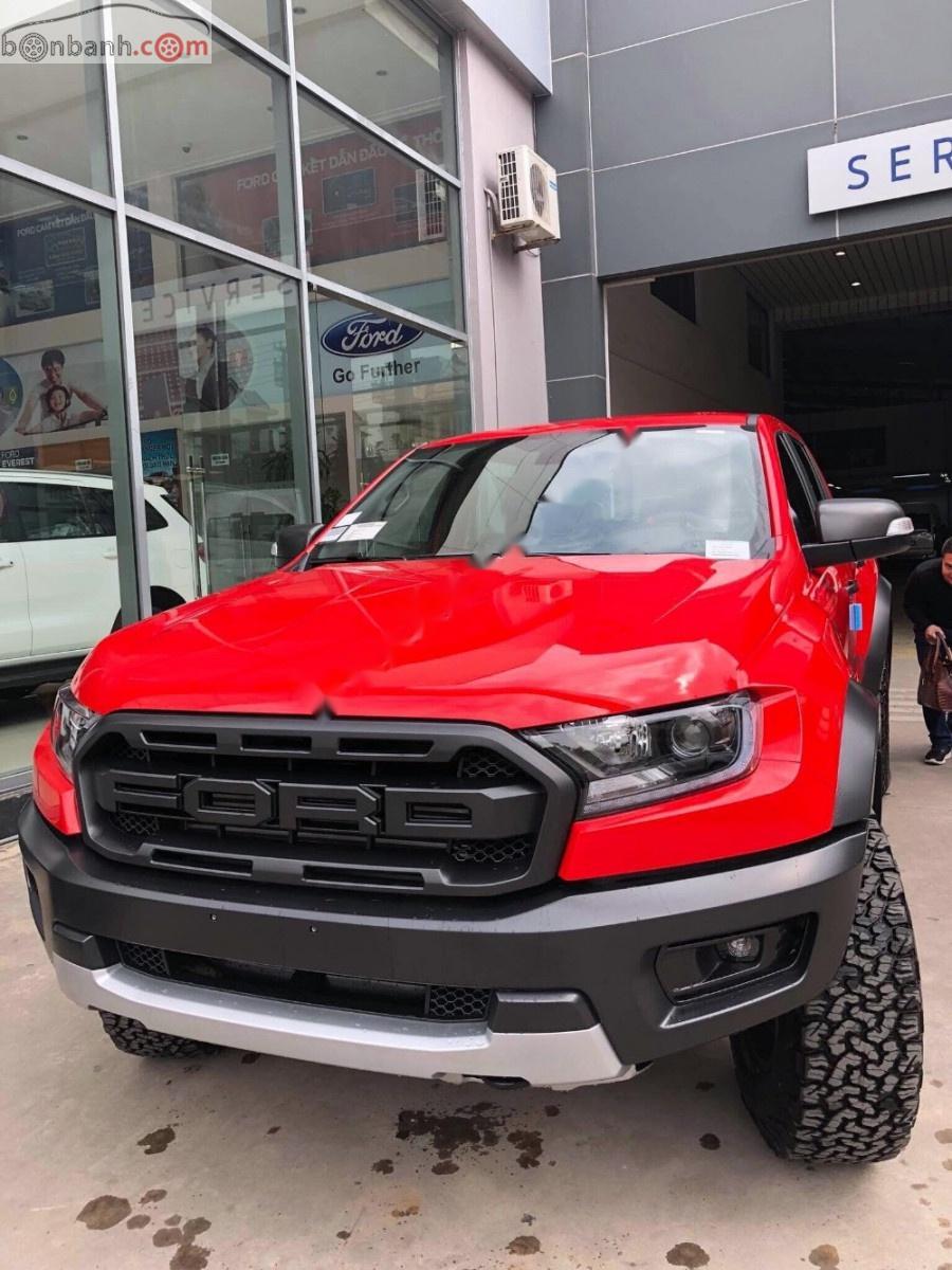 Bán Ford Ranger Raptor 2.0L 4x4 AT năm 2019, màu đỏ, nhập khẩu