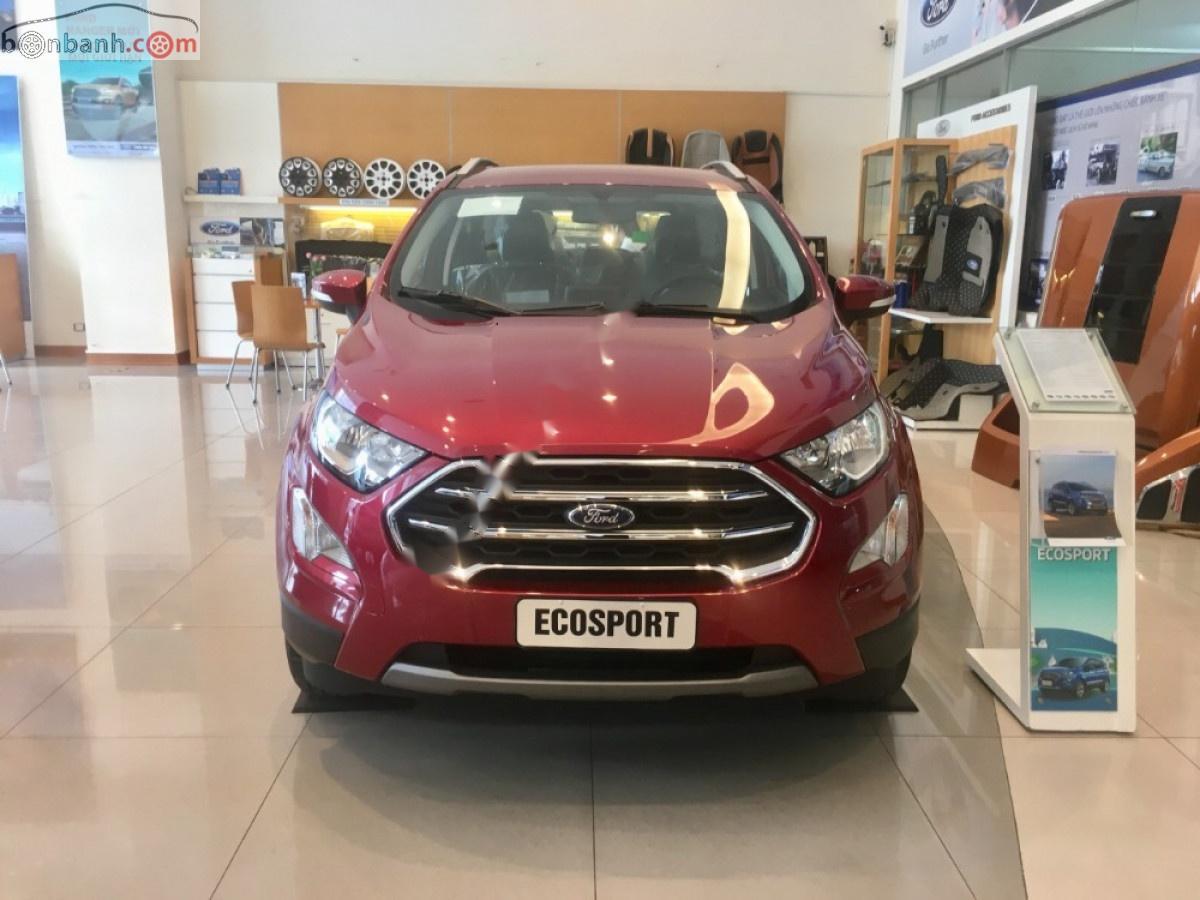 Cần bán xe Ford EcoSport đời 2019, màu đỏ, 599tr