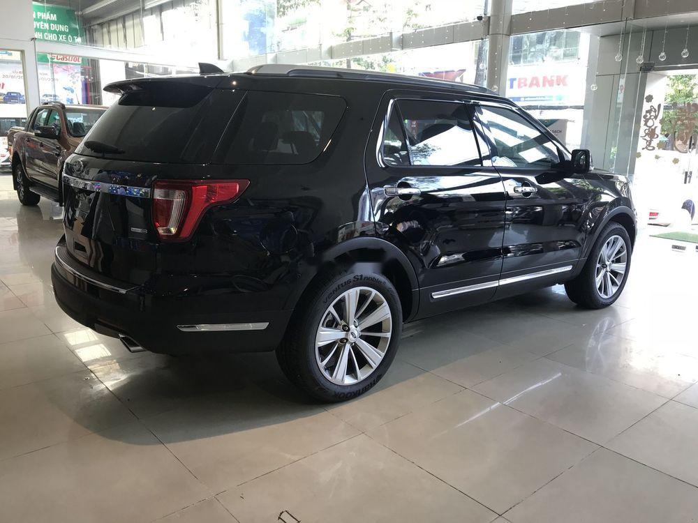 Bán xe Ford Explorer đời 2019, màu đen, xe nhập