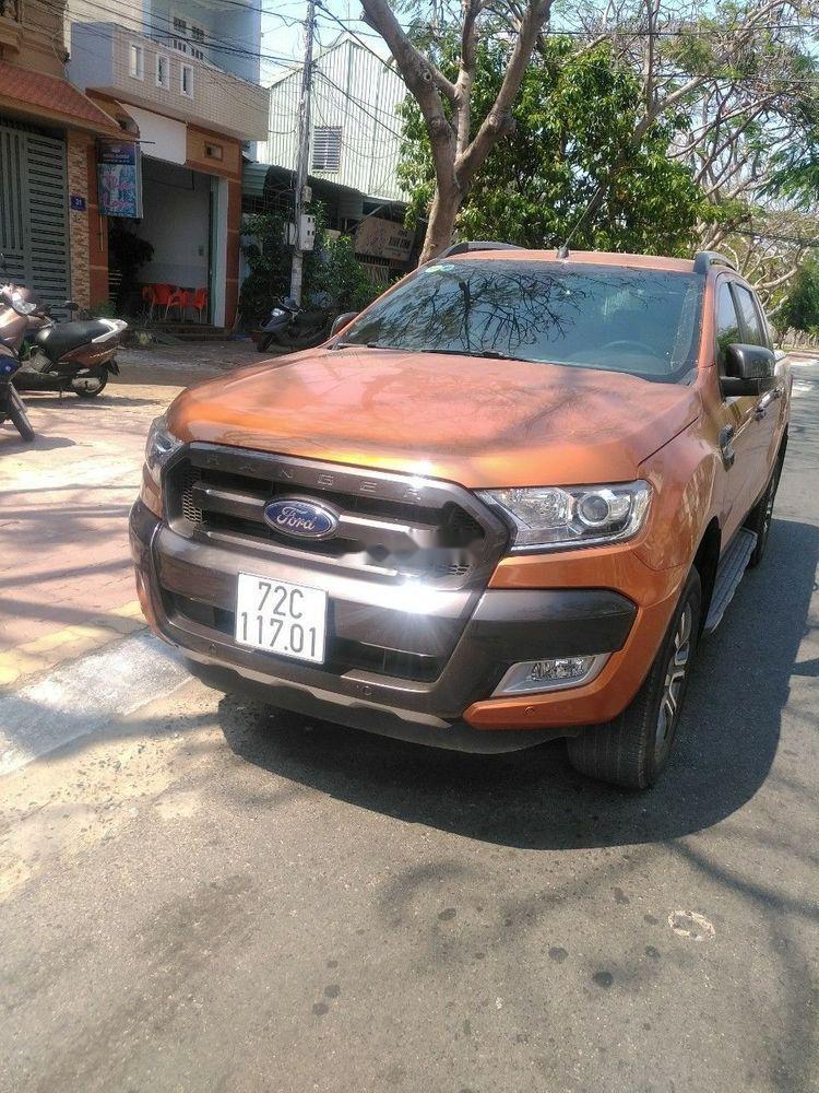Bán Ford Ranger Wildtrak 3.2 năm 2017, nhập khẩu