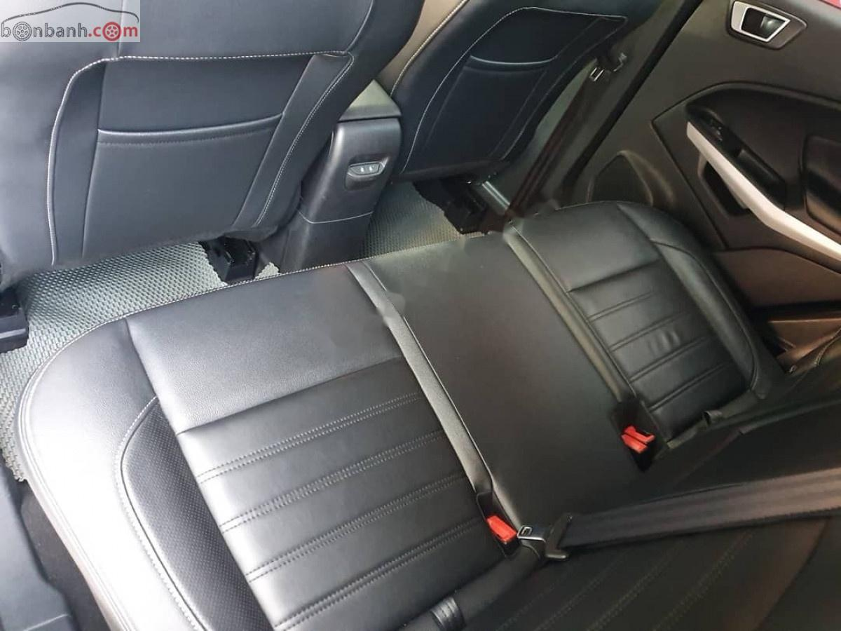 Bán xe Ford EcoSport 1.5 Titatium sản xuất năm 2018, màu xanh lam, giá chỉ 595 triệu