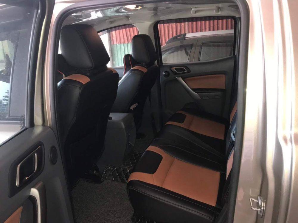 Chính chủ bán Ford Ranger XLT sản xuất 2016, màu vàng cát