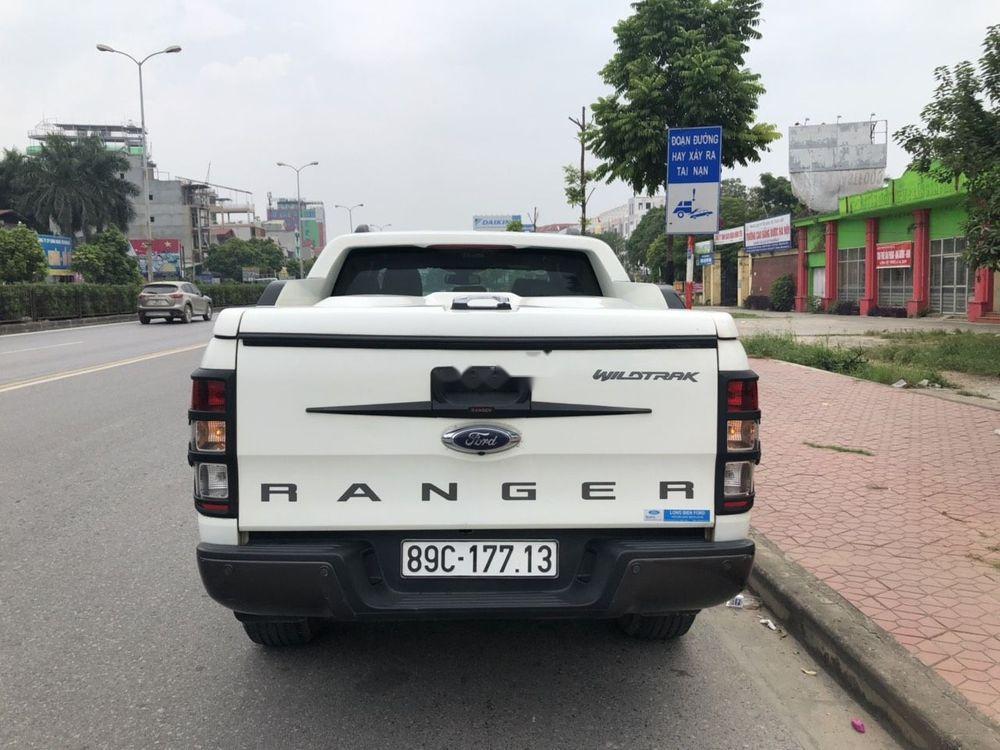 Bán Ford Ranger Wildtrak 3.2 AT năm sản xuất 2015, màu trắng