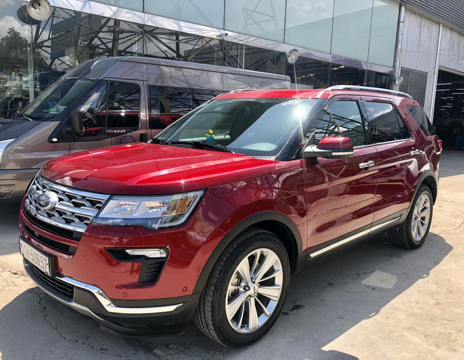 Bán xe Ford Explorer 2.3L Ecoboost 05/2019 xe demo Western Ford