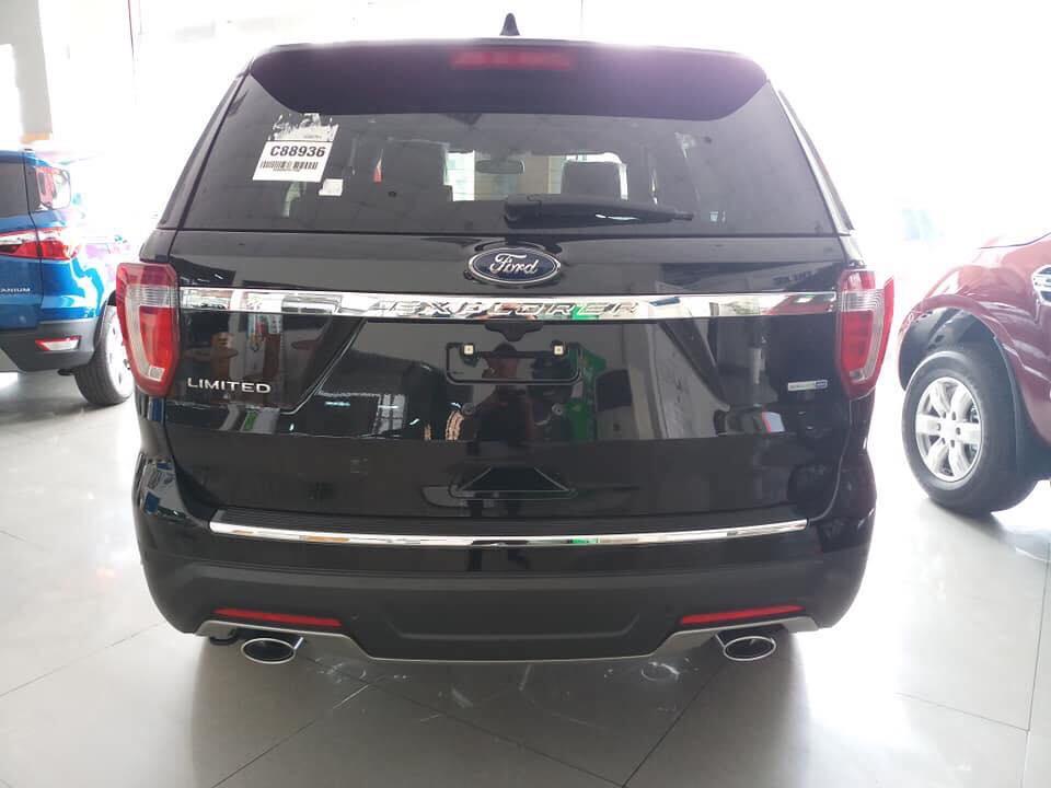 Bán ô tô Ford Explorer 2.3 Ecoboost năm 2019, màu đen, nhập khẩu, Hotline: 0766120596