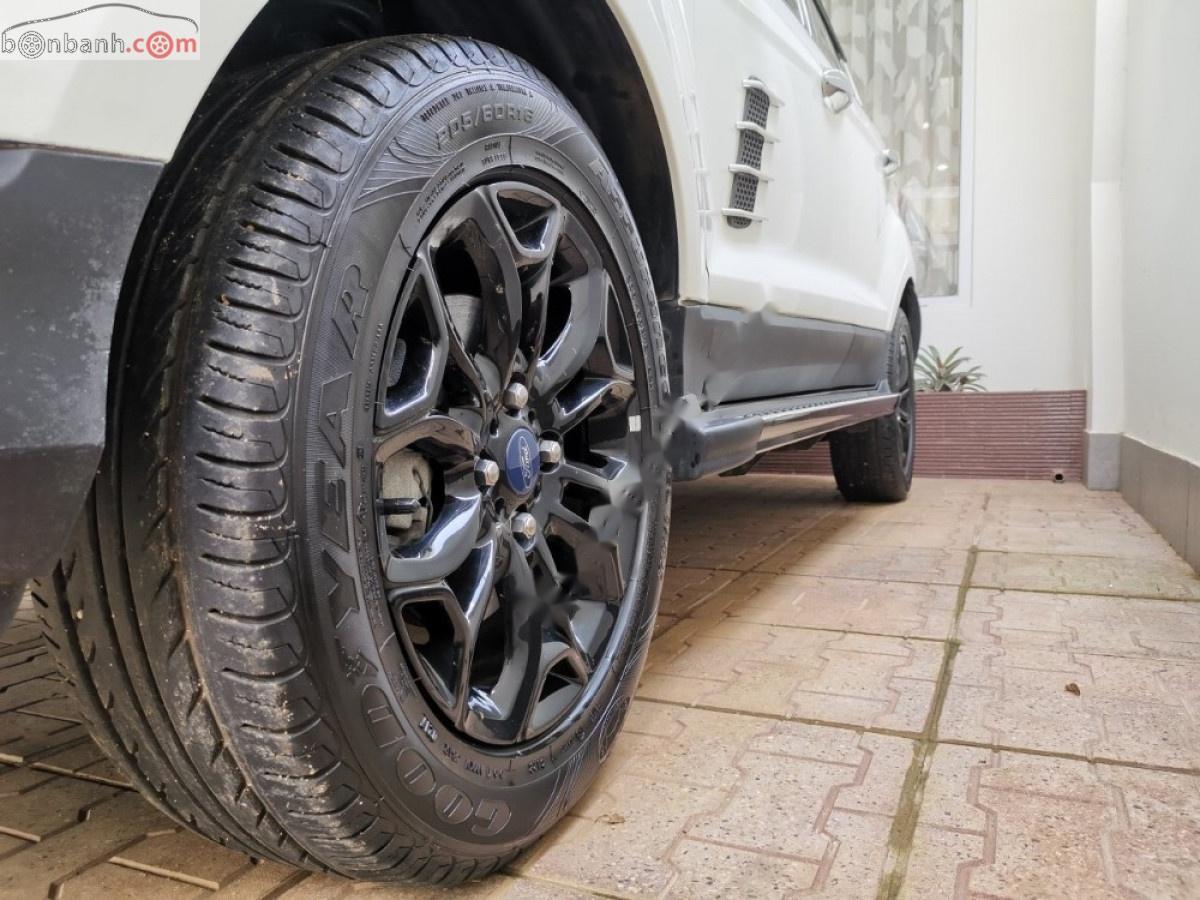 Bán Ford EcoSport Titanium Black 1.5L AT 2017, màu trắng