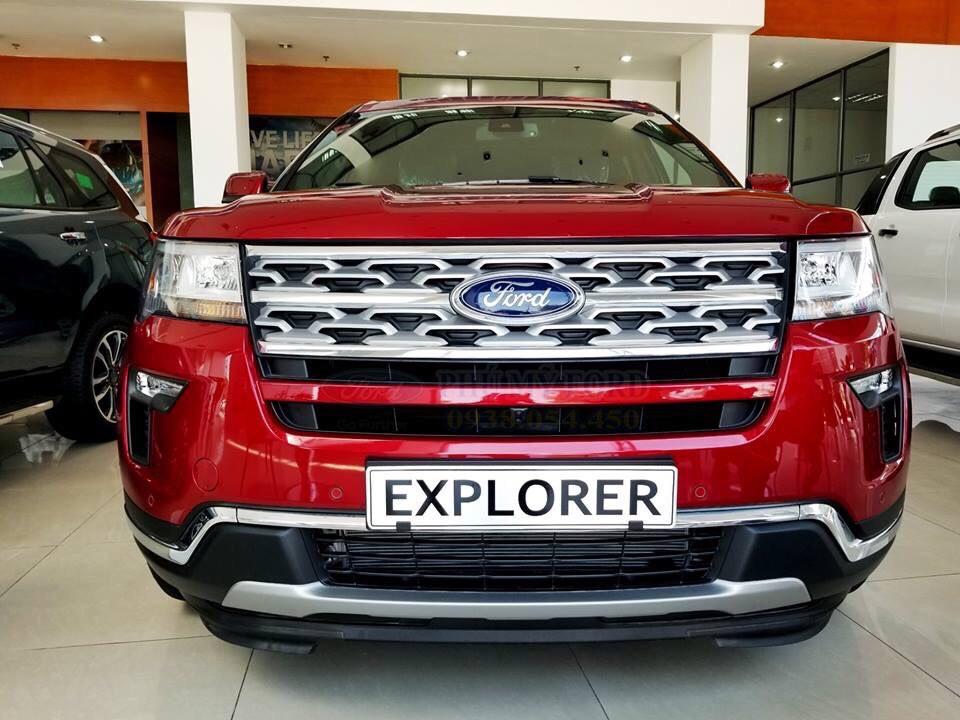 Bán ô tô Ford Esplorer đời 2019, màu đỏ, nhập khẩu nguyên chiếc