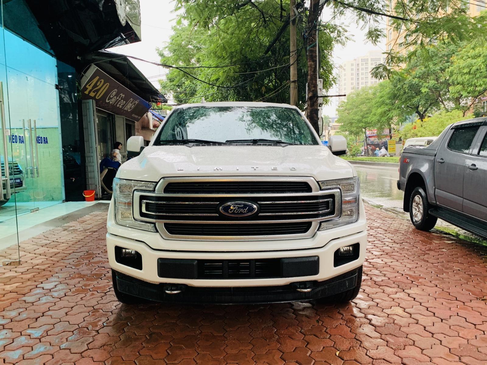 Bán Ford F 150 Limited năm sản xuất 2019, màu trắng, nhập khẩu nguyên chiếc