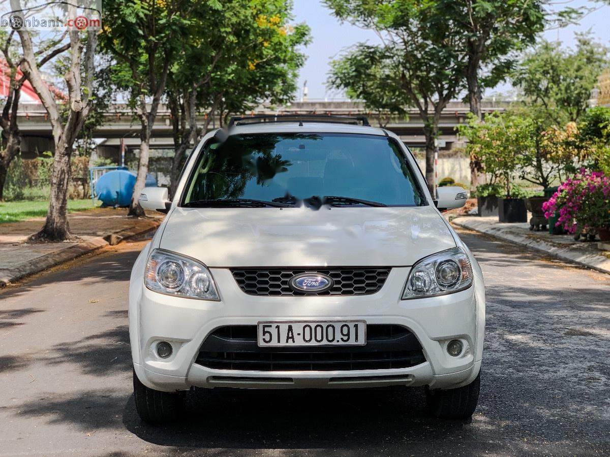 Cần bán xe Ford Escape XLS 2.3L 4x2 AT đời 2011, màu trắng
