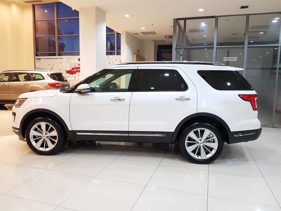 Cần bán Ford Esplorer đời 2020, màu trắng, xe nhập