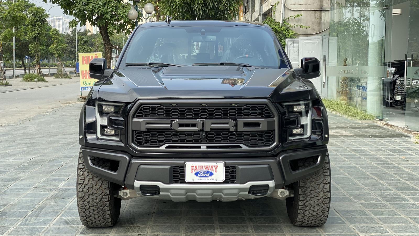 Bán Ford F150 Raptor 2020, màu đen, giá tốt giao xe ngay