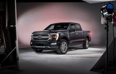 Ford F150 Limited 2021, màu đen, nhập khẩu Mỹ