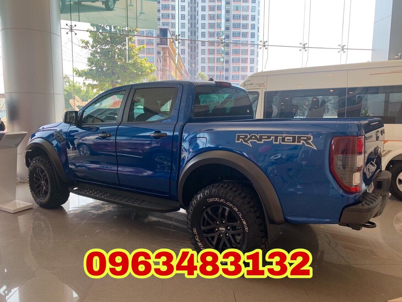 Xe Ford Ranger Raptor 2021 hỗ trợ trả góp tại tỉnh Bắc Ninh, giao xe ngay nhập khẩu nguyên chiếc