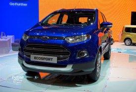 Cần bán Ford EcoSport sản xuất 2015, màu xanh lam giá 606 triệu tại Tp.HCM