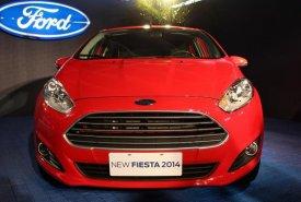 Cần bán xe Ford Fiesta ECOBOOST 1.0L đời 2018, màu đỏ, giá chỉ 590triệu giá 590 triệu tại Tp.HCM