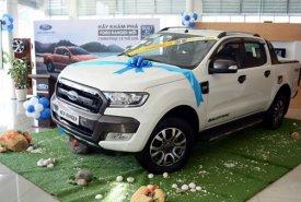 Bán Ford Ranger Wild Track 3.2L 4 x 4 đời 2017, màu trắng, nhập khẩu giá cạnh tranh giá 885 triệu tại Hà Nội