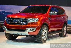 Ford Everest đời 2018, màu đỏ, xe nhập ,999 giá 999 triệu tại Tp.HCM