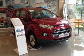 Ford EcoSport Titanium đời mới tại Vĩnh Phúc, màu đỏ, giá thương lượng hỗ trợ đăng ký và vay ngân hàng giá 605 triệu tại Vĩnh Phúc