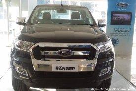Cần bán Ford Ranger XLT 4x4 MT đời 2020, màu đen, nhập khẩu, Hỗ trợ trả góp tại Bắc Giang giá 720 triệu tại Bắc Giang