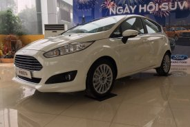 Cần bán xe Ford Fiesta Ecosboost 1.0L năm 2018, màu trắng, giao xe ngay, Hỗ trợ trả góp 80% giá 638 triệu tại Hà Nội