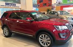 Giá bán xe Ford Explorer 2017 Limited, nhập khẩu từ Mỹ, các màu xe Ford Explorer 2017, xe Explorer giá 2 tỷ 147 tr tại Hà Nội