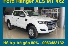 Bán Ford Ranger XLS 4x2 MT mới 100%, màu trắng, nhập khẩu, hỗ trợ trả góp hơn 80% giá 659 triệu tại Hà Nội