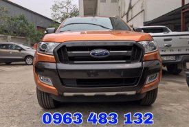 Bán ô tô Ford Ranger Wildtrak 3.2 AT 4x4 mới 100%, Hỗ trợ trả góp và thủ tục đăng ký, đăng kiểm giá 920 triệu tại Hà Nội