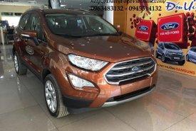 Bán các phiên bản Ford Ecosport Titanium 2018 màu nâu hổ phách, hỗ trợ trả góp 90% giá 648 triệu tại Hà Nội