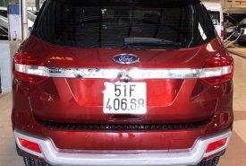 Bán Ford Everest Trend 2.2L 4x2 AT năm sản xuất 2016, màu đỏ, nhập khẩu giá 1 tỷ 170 tr tại Lâm Đồng
