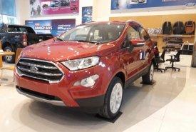 Bán Ford EcoSport Titanium 1.5L AT năm 2018, màu đỏ cam giá 630 triệu tại Hà Nội