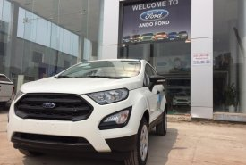 Bán Ford EcoSport Ambiente AT 2018, màu trắng, KM phụ kiện, trả góp LS 0,6%, giao xe tại Bắc Kạn- 0963605050 giá 535 triệu tại Bắc Kạn