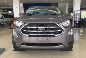 Cần bán lại xe Ford EcoSport Titanium 1.5L đời 2018, màu nâu, 648 triệu hỗ trợ giá tốt hơn giá 648 triệu tại Vĩnh Phúc