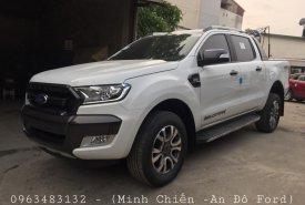 Bán ô tô Ford Ranger Wildtrak 3.2 AT 4x4, màu trắng, nhập khẩu nguyên chiếc, hỗ trợ trả góp giá 925 triệu tại Hà Nội