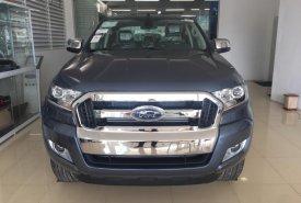 Giao ngay Ford Ranger XLT 4x4 MT màu xanh thiên thanh, hỗ trợ trả góp 80%, giao xe ngay giá 790 triệu tại Hà Nội
