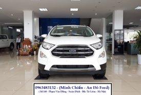 Giao ngay Ford Ecosport Titanium năm 2020, màu trắng, giá cả thương lượng, hỗ trợ trả góp giá 648 triệu tại Hà Nội
