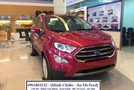 Giao ngay Ford Ecosport Titanium 1.5L đời 2018 màu đỏ, thương lượng về giá tốt nhất, hỗ trợ trả góp 80% giá 648 triệu tại Hà Nội
